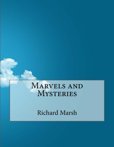 Large book cover: Marvels and Mysteries