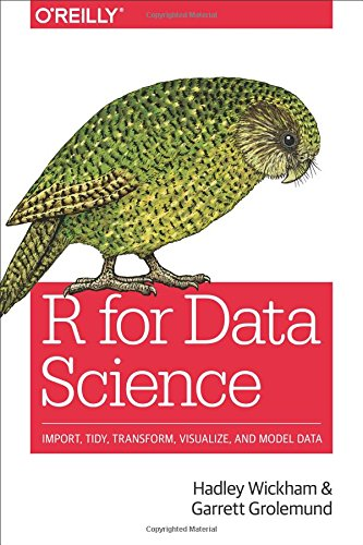 Large book cover: R for Data Science