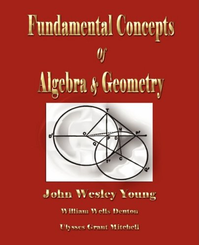 Large book cover: Lectures on Fundamental Concepts of Algebra and Geometry