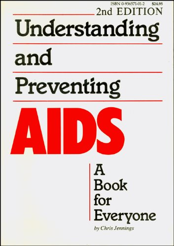 Large book cover: Understanding and Preventing AIDS