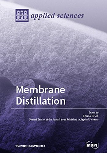 Large book cover: Membrane Distillation