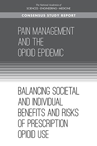 Large book cover: Pain Management and the Opioid Epidemic