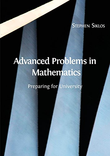 Large book cover: Advanced Problems in Mathematics: Preparing for University