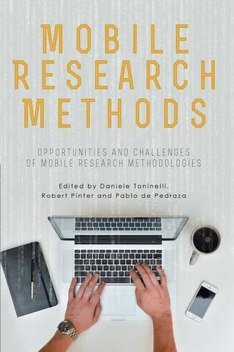 Large book cover: Mobile Research Methods