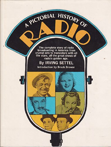Large book cover: A Pictorial History of Radio