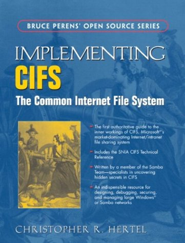 Large book cover: Implementing CIFS: The Common Internet File System