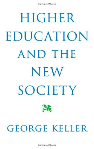 Large book cover: Higher Education and the New Society