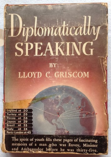 Large book cover: Diplomatically Speaking