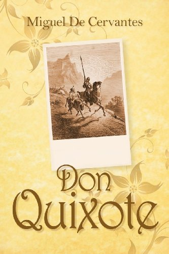 Large book cover: Don Quixote