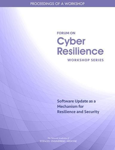 Large book cover: Software Update as a Mechanism for Resilience and Security