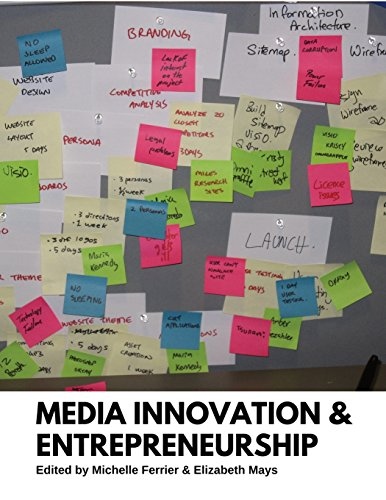 Large book cover: Media Innovation and Entrepreneurship