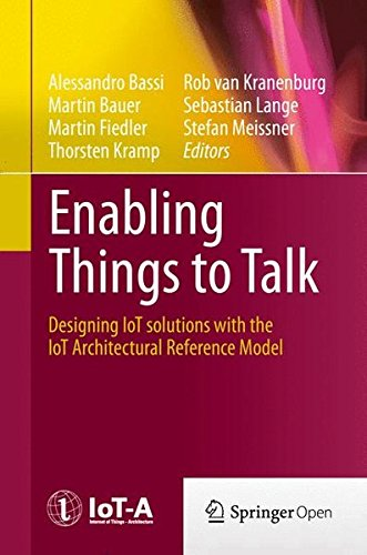 Large book cover: Enabling Things to Talk