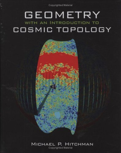 Large book cover: Geometry with an Introduction to Cosmic Topology