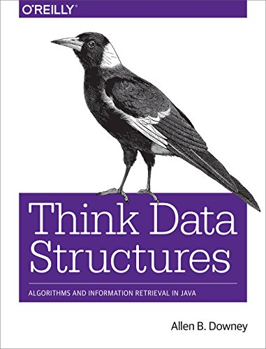 Large book cover: Think Data Structures