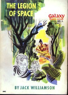 Large book cover: The Legion of Space