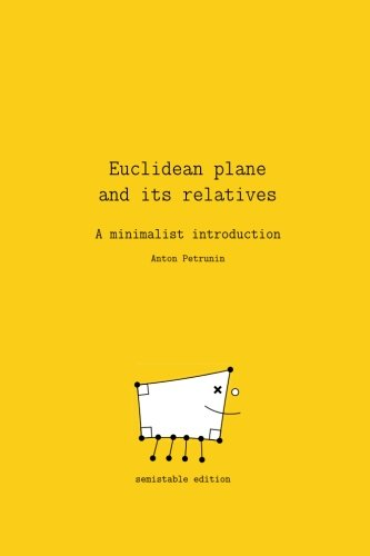 Large book cover: Euclidean Plane and Its Relatives