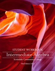 Large book cover: Intermediate Algebra
