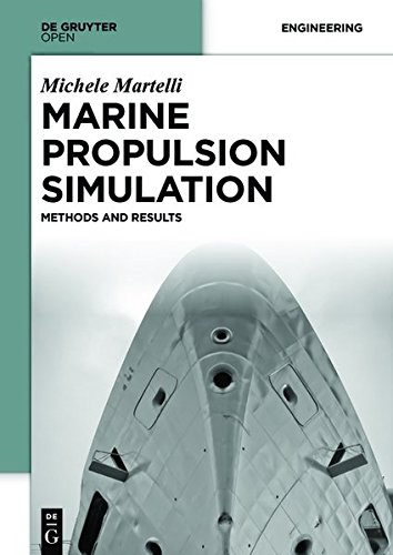 Large book cover: Marine Propulsion Simulation: Methods and Results