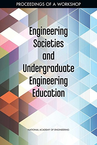 Large book cover: Engineering Societies and Undergraduate Engineering Education