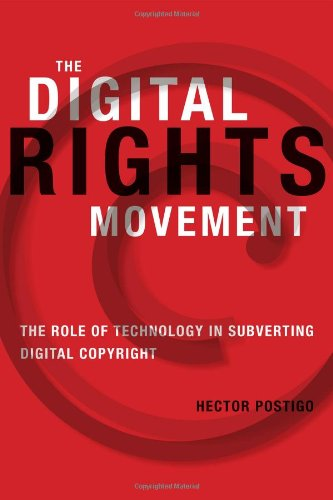Large book cover: The Digital Rights Movement