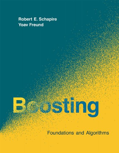 Large book cover: Boosting: Foundations and Algorithms