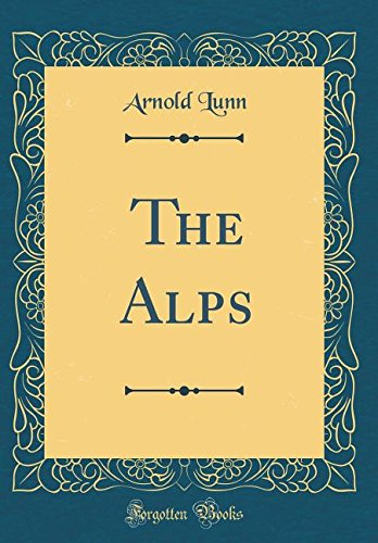 Large book cover: The Alps
