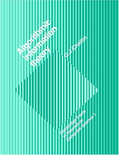 Large book cover: Algorithmic Information Theory