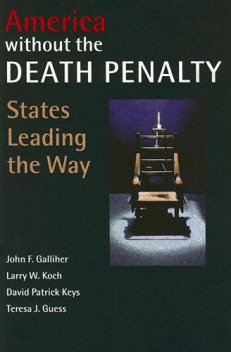 Large book cover: America Without the Death Penalty