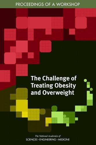 Large book cover: The Challenge of Treating Obesity and Overweight