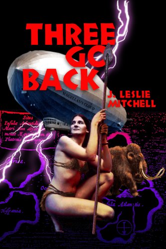 Large book cover: Three Go Back