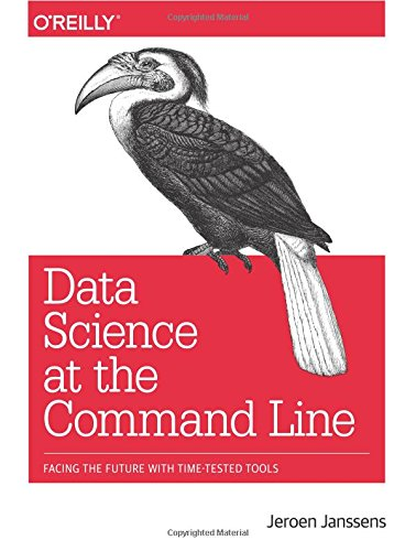 Large book cover: Data Science at the Command Line