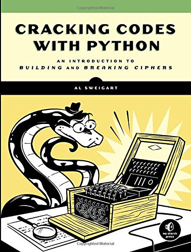 Large book cover: Cracking Codes with Python