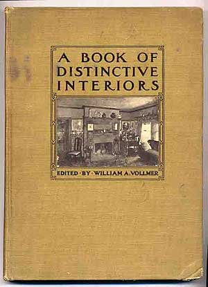 Large book cover: A Book of Distinctive Interiors