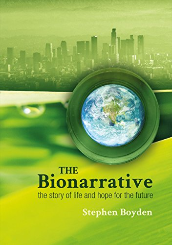 Large book cover: The Bionarrative: The story of life and hope for the future