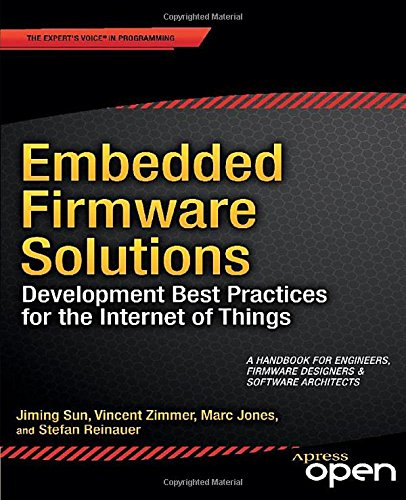Large book cover: Embedded Firmware Solutions