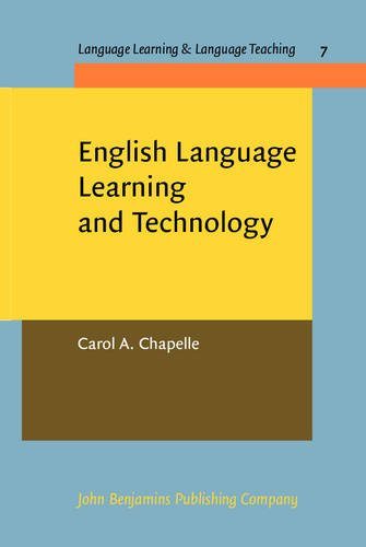 Large book cover: English Language Learning and Technology