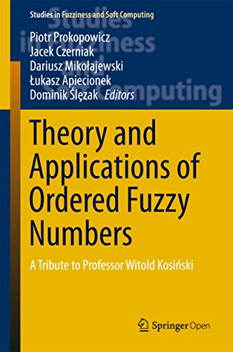 Large book cover: Theory and Applications of Ordered Fuzzy Numbers