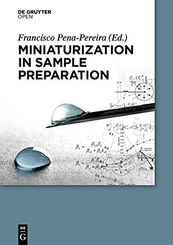 Large book cover: Miniaturization in Sample Preparation