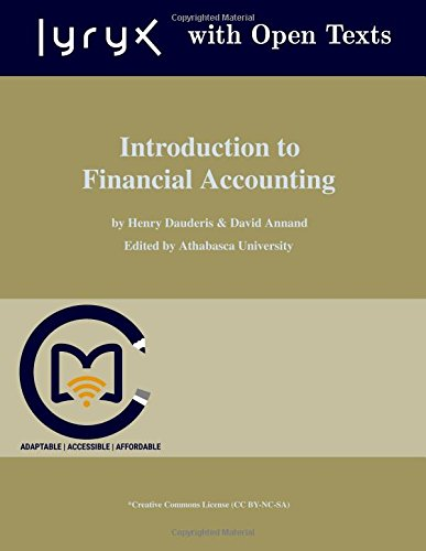 Large book cover: Introduction to Financial Accounting