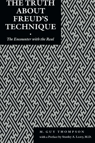 Large book cover: The Truth About Freud's Technique