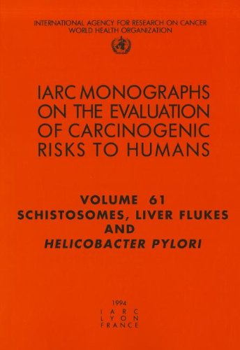 Large book cover: Schistosomes, Liver Flukes and Helicobacter pylori