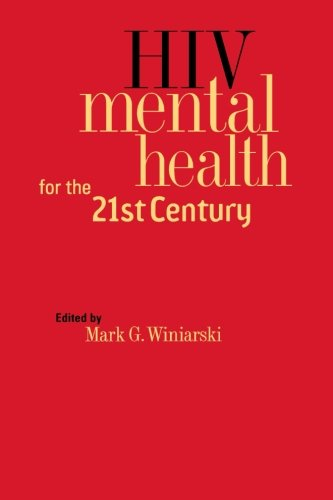 Large book cover: HIV Mental Health for the 21st Century