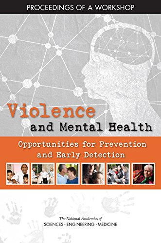 Large book cover: Violence and Mental Health