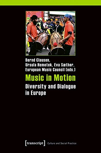 Large book cover: Music in Motion