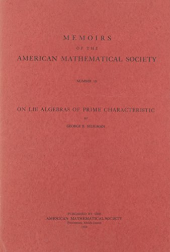 Large book cover: On Lie Algebras Of Prime Characteristic