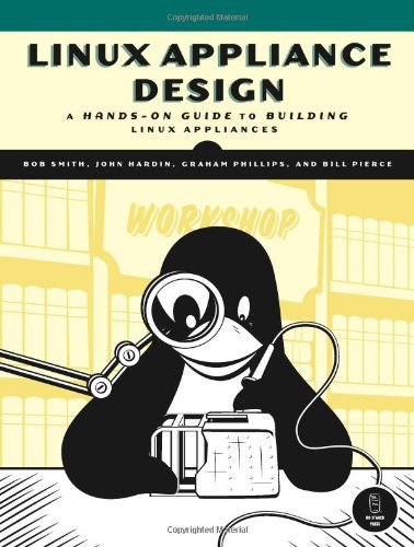 Large book cover: Linux Appliance Design