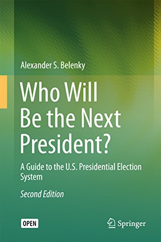 Large book cover: Who Will Be the Next President?