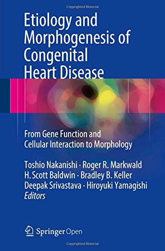 Large book cover: Etiology and Morphogenesis of Congenital Heart Disease