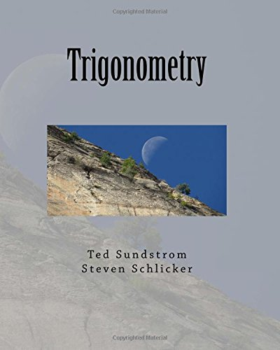 Large book cover: Trigonometry