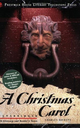 Large book cover: A Christmas Carol